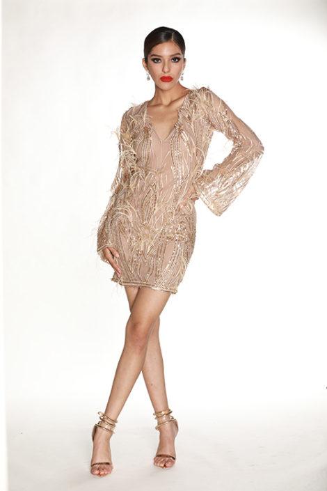 Cassie Dress Front