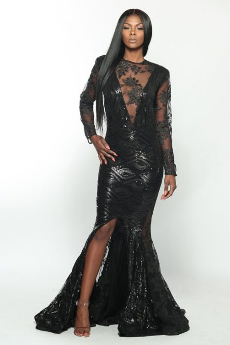 Milan gown